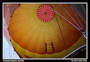Inside The Balloon.Maasai Mara, Kenya.September 2012