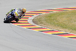 17.07.2010, Sachsenring, GER, MotoGP, Deutschland Grand Prix 2010, im Bild Valentino Rossi (Fiat Yamaha Team #46) EXPA Pictures © 2010, PhotoCredit: EXPA/ nph/  Hammes+++++ ATTENTION - OUT OF GER +++++ / SPORTIDA PHOTO AGENCY