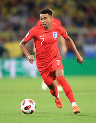 England's Jesse Lingard during the FIFA World Cup 2018, round of 16 match at the Spartak Stadium, Moscow. PRESS ASSOCIATION Photo. Picture date: Tuesday July 3, 2018. See PA story WORLDCUP England. Photo credit should read: Adam Davy/PA Wire. RESTRICTIONS: Editorial use only. No commercial use. No use with any unofficial 3rd party logos. No manipulation of images. No video emulation
