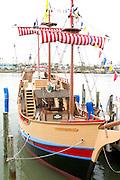 Tour pirate ship at John's Pass.  Madeira Beach Tampa Bay Area Florida USA