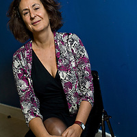 Gillian Slovo - South African born playwright at the Five x 15 event at the Tabernacle , West London<br /> <br /> Picture by Nick Cunard/Writer Pictures<br /> <br /> WORLD RIGHTS