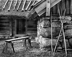 Skansen Farmer's Hut, Stockholm, Sweden