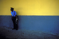 security for Baby Doc Duvalier the week he left Haiti