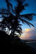 Sunrise, Outrigger on the Lagoon Resort, Viti Levu, Fiji