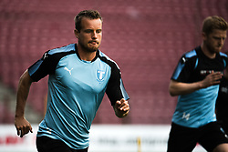 July 23, 2018 - Cluj, Romania - i180723 Eric Larsson of MalmÅ¡ FF during a practice ahead the UEFA Champions League qualifying match between Cluj and MalmÅ¡ FF on July 23, 2018 in Cluj..Photo: Ludvig Thunman / BILDBYRN / kod LT / 35508 (Credit Image: © Ludvig Thunman/Bildbyran via ZUMA Press)