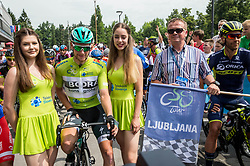 Sam Bennett (ITA) of Bora - Hansgrohe during Stage 2 of 24th Tour of Slovenia 2017 / Tour de Slovenie from Ljubljana to Ljubljana (169,9 km) cycling race on June 16, 2017 in Slovenia. Photo by Vid Ponikvar / Sportida