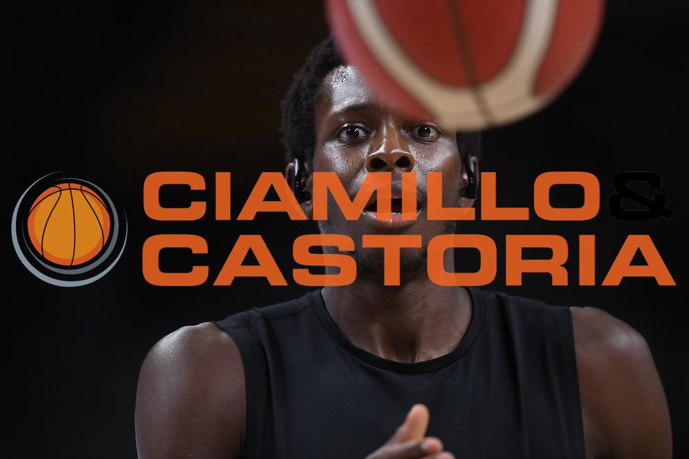 Krubally Ousman<br /> Segafredo Virtus Bologna - Happy Casa Brindisi<br /> Semifinali - Gara 3<br /> Legabasket Serie A UnipolSAI 2020/2021<br /> Bologna, 02/06/2021<br /> Foto GiulioCiamillo / Ciamillo