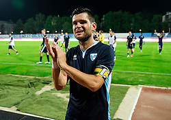 Alen Jogan of Gorica celebrates after the 2nd Leg football match between ND Gorica and FC Shirak in 1st Qualifying Round of UEFA Europa League 2017/18, on July 6, 2017 in Nova Gorica, Slovenia. Photo by Vid Ponikvar / Sportida