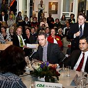 NLD/Huizen/20100218 - Lijsttrekkersdebat politieke partijen gemeenteraadsverkiezingen 2010