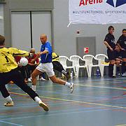ZVV Hilversum - FC Marlene, schot van Anouk Roest