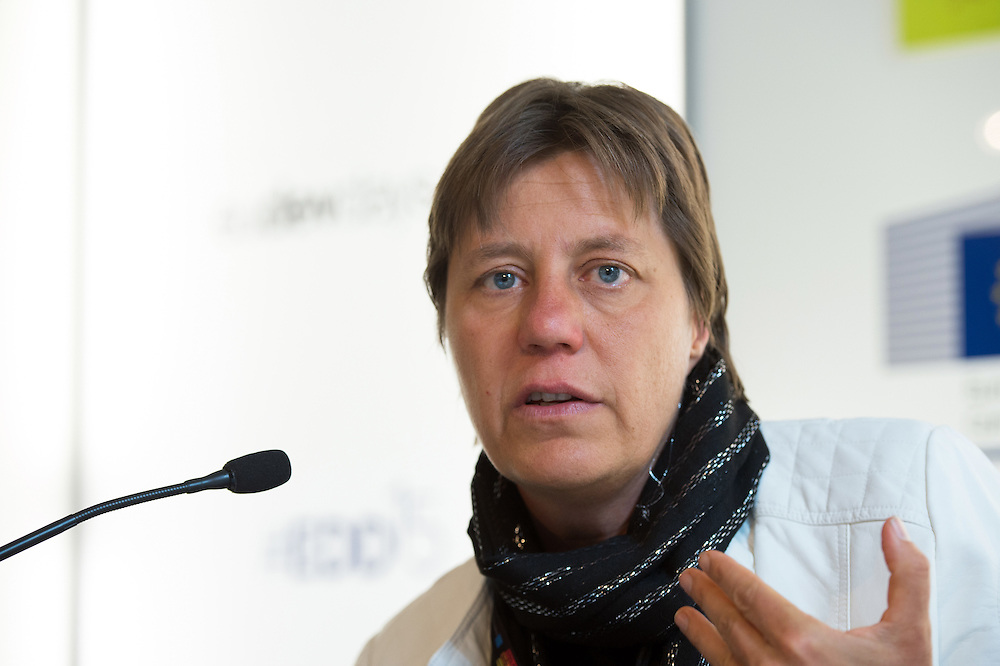 03 June 2015 - Belgium - Brussels - European Development Days - EDD - Urban - Growing food in greener cities - The role of urban and peri-urban horticulture - Marielle Dubbeling<br /> Director, RUAF Foundation-International network of Resource centres on Urban Agriculture and Food Security© European Union