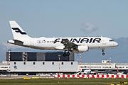 OH-LXI Finnair, Airbus A320-214 at Malpensa (MXP / LIMC), Milan, Italy