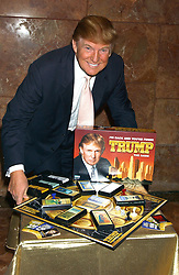 Aug 18, 2004; New York, NY, USA; DONALD TRUMP launched his new board game called 'The Game' at the Trump Towers. .  (Credit Image: Dan Herrick/ZUMAPRESS.com)
