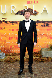 Colin Butfield attending the global premiere of Netflix's Our Planet, held at the Natural History Museum, London.