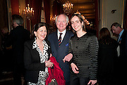 ALIX DE LA ROCHEFACOURT; JEAN-PHILIPPE HOHOTTINGER; EUGENIE HOHOTTINGER, Legion d'honneur awards. Elysee Palace, Presidence. Rue du Faubourg. 50 Rue de la Bienfaisance. Paris. 07 April 2010