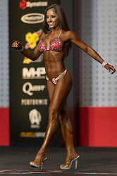 Sept.16, 2016 - Las Vegas, Nevada, U.S. -  IVETH CARREON competes in the Bikini Olympia contest during Joe Weider's Olympia Fitness and Performance Weekend.(Credit Image: © Brian Cahn via ZUMA Wire)
