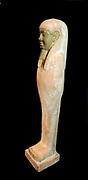 Funerary statue of the Egyptian God Osiris Dynastic Egypt circa second millenia BC