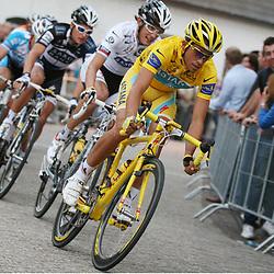 Sportfoto archief 2006-2010<br /> 2010<br /> Alberto Contador in actie tijdens de Profronde van Stiphout