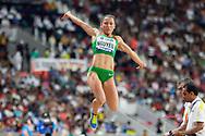 Anasztazia Nguyen (Hungary), Long Jump Women - Final, during the 2019 IAAF World Athletics Championships at Khalifa International Stadium, Doha, Qatar on 6 October 2019.