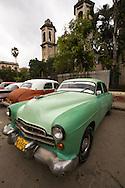 Big American car, Havana, Cuba