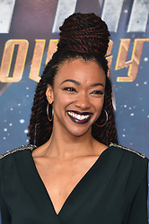 Sonequa Martin-Green pictured at a Star Trek: Discovery fan screening, at Milbank Tower in London. PRESS ASSOCIATION Photo. Picture date: Sunday November 5th, 2017. Photo credit should read: Matt Crossick/PA Wire.