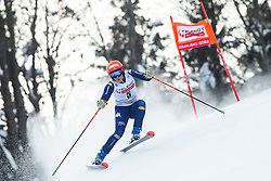 Federica Brignone (ITA) during the Ladies' Giant Slalom at 57th Golden Fox event at Audi FIS Ski World Cup 2020/21, on January 17, 2021 in Podkoren, Kranjska Gora, Slovenia. Photo by Vid Ponikvar / Sportida