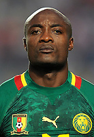 Football Fifa Brazil 2014 World Cup Matchs-Qualifier / Africa - Play-Off / <br /> Tunisia vs Cameroon 0-0  ( Olympic Stadium of Rades , Tunis-Rades , Tunisia ) <br /> Pierre WEBO of Cameroon ,  during the match between Tunisia and Cameroon
