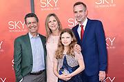 Premiere van de 3D musical Sky in Theater Amsterdam.<br /> <br /> Op de foto:  Frank Sanders en directrice Carre Madeleine van der Zwaan