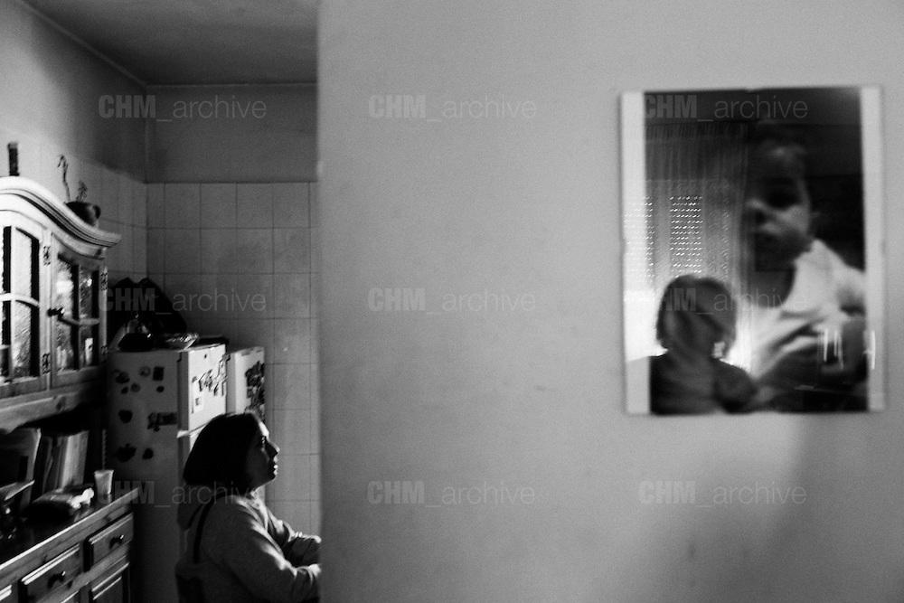 L'interno di una casa nel quartiere di Tor Sapienza. Roma 21 novembre 2014.  Christian Mantuano / OneShot