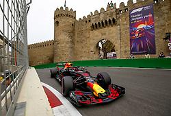April 27, 2018 - Baku, Azerbaijan - Motorsports: World Championship; 2018; Grand Prix Azerbaijan, Grand Prix of Europe, Formula 1 2018 Azerbaijan Grand Prix, .#3 Daniel Ricciardo (AUS, Red Bull Racing) (Credit Image: © Hoch Zwei via ZUMA Wire)