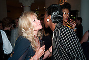 DEBBIE MOORE; VICTORIA IFY The  launch of Bentley & SkinnerÕs new premises with Lady Helen Taylor at 55 Piccadilly. Bentley and Skinner will be giving a percentage of any items sold on the night to CLIC Sargent. 14 September 2010. -DO NOT ARCHIVE-© Copyright Photograph by Dafydd Jones. 248 Clapham Rd. London SW9 0PZ. Tel 0207 820 0771. www.dafjones.com.<br /> DEBBIE MOORE; VICTORIA IFY The  launch of Bentley & Skinner's new premises with Lady Helen Taylor at 55 Piccadilly. Bentley and Skinner will be giving a percentage of any items sold on the night to CLIC Sargent. 14 September 2010. -DO NOT ARCHIVE-© Copyright Photograph by Dafydd Jones. 248 Clapham Rd. London SW9 0PZ. Tel 0207 820 0771. www.dafjones.com.