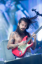 Biffy Clyro headline the main stage on Sunday at the TRNSMT music festival, Glasgow Green.