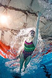 Photoshoot of Slovenian swimmer Katja Fain, qualified for Olympic Games in Tokyo 2020 (2021), on May 27, 2021 in Kopalisce Pristan, Maribor, Slovenia. Photo by Matic Klansek Velej / Sportida