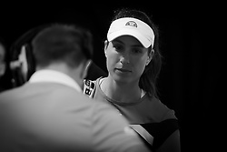 May 7, 2019 - Madrid, MADRID, SPAIN - Johanna Konta of Great Britain on her way onto the court for her third-round match at the 2019 Mutua Madrid Open WTA Premier Mandatory tennis tournament (Credit Image: © AFP7 via ZUMA Wire)