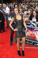 Una Healy The Inbetweeners Movie world premiere, Vue Cinema, Leicester Square, London, UK, 16 August 2011:  Contact: Rich@Piqtured.com +44(0)7941 079620 (Picture by Richard Goldschmidt)