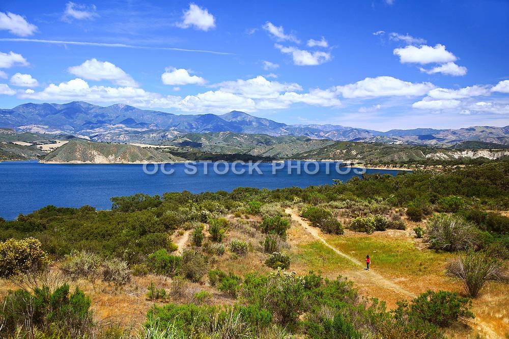 Scenic Cachuma Lake in Santa Barbara County