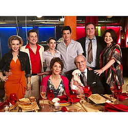 """Alyssa Milano releases a photo on Instagram with the following caption: """"That's a wrap on #littleitaly. See these people? I love them. Thank you, Adam Ferrara, Emma Roberts, Hayden Christensen,  Gary Basaraba, Linda Cash, Danny Aiello, Andrea Martin"""". Photo Credit: Instagram *** No USA Distribution *** For Editorial Use Only *** Not to be Published in Books or Photo Books ***  Please note: Fees charged by the agency are for the agency's services only, and do not, nor are they intended to, convey to the user any ownership of Copyright or License in the material. The agency does not claim any ownership including but not limited to Copyright or License in the attached material. By publishing this material you expressly agree to indemnify and to hold the agency and its directors, shareholders and employees harmless from any loss, claims, damages, demands, expenses (including legal fees), or any causes of action or allegation against the agency arising out of or connected in any way with publication of the material."""