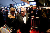 Henry Kissinger and Paula Zahn at the 2009 International Emmy Awards Gala hosted by the International Academy of Television Arts & Sciences in New York.   ***EXCLUSIVE***