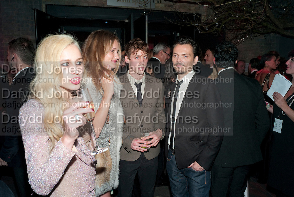 ALICE DELLAL; ROSIE HUNTINGTON-WHITELEY; JOHNNIE BORRELL; MATTHEW WILLIAMSON, Natalia Vodianova and Lucy Yeomans co-host The Love Ball London. The Roundhouse. Chalk Farm. 23 February 2010.  To raise funds for The Naked Heart Foundation, a children's charity set up by Vodianova in 2005.<br /> ALICE DELLAL; ROSIE HUNTINGTON-WHITELEY; JOHNNIE BORRELL; MATTHEW WILLIAMSON, Natalia Vodianova and Lucy Yeomans co-host The Love Ball London. The Roundhouse. Chalk Farm. 23 February 2010.  To raise funds for The Naked Heart Foundation, a childrenÕs charity set up by Vodianova in 2005.