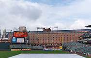 A general view of Orioles Park at Camden Yards during a game between the Los Angeles Angels and Baltimore Orioles on June 10, 2013 in Baltimore, Maryland.  The Orioles defeated the Angels 4 to 3.  Photo: Ben Krause