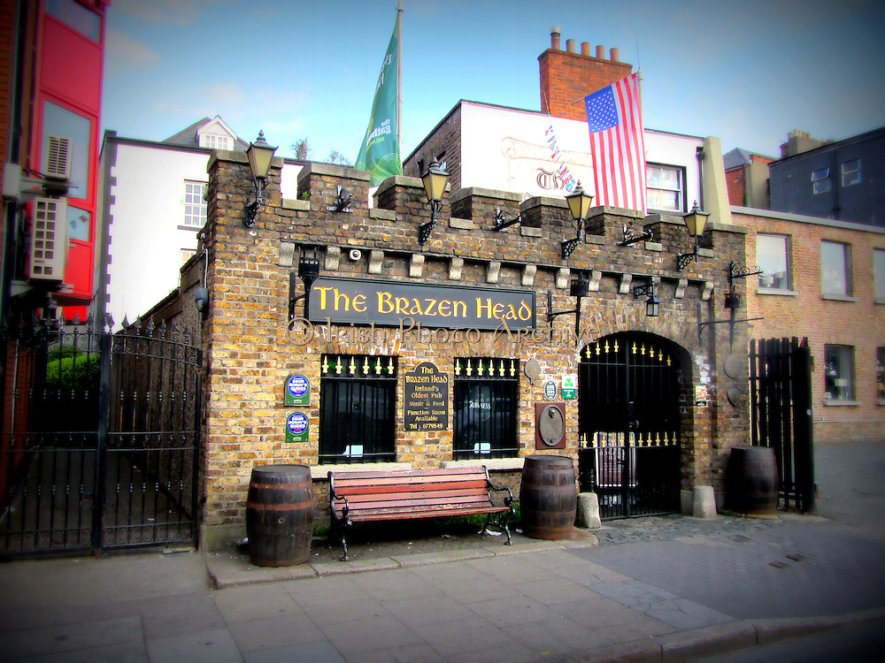 Brazen Head Pub, Bridge St, Lower, Dublin City, est.1198