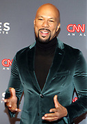December 17, 2017-New York, NY-United States:  Recording Artist/Actor Common attends the 11th Annual CNN Heroes All-Star Tribute held at the American Museum of Natural History on December 18, 2017 in New York City. The All-Star Tribute ceremony honors everyday people changing the world. Terrence Jennings/terrencejennings.com