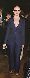 Designer STELLA McCARTNEY daughter of<br />  Paul McCartney at Christie's on 22nd February 1999.
