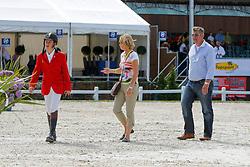 Verlooy Axel, Nena and Jos (BEL)<br /> European Championship Childern - Moorsele 2009<br /> © Hippo Foto - Dirk Caremans