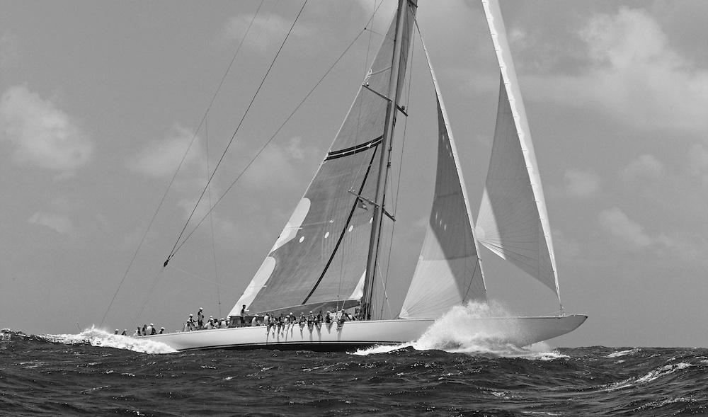Antigua Classic Regatta<br /> RANGER 137 ft J-Class Cutter<br /> © Daniel Forster