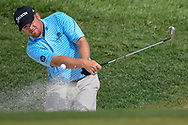 J.B. Holmes (USA) hits from the trap on 9 during 2nd round of the 100th PGA Championship at Bellerive Country Club, St. Louis, Missouri. 8/11/2018.<br /> Picture: Golffile   Ken Murray<br /> <br /> All photo usage must carry mandatory copyright credit (© Golffile   Ken Murray)
