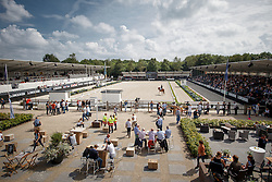 Overview arena<br /> World Championship Young Dressage Horses <br /> Ermelo 2016<br /> © Hippo Foto - Dirk Caremans<br /> 28/07/16