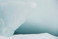 Ice Formations Leavitt Beach, Meredith, NH.  ©2015 Karen Bobotas Photographer.