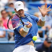 Washington DC - August 3rd, 2013 - John Isner at the 2013 CitiOpen Tennis Tournament in Washington, D.C.