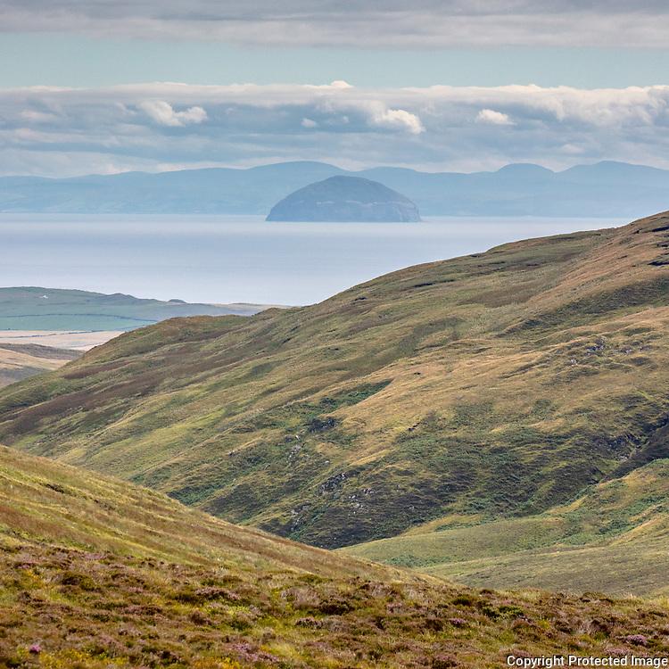 Aisla Craig from near Beinn na Lice, Kintyre, Argyll & Bute, Scotland.